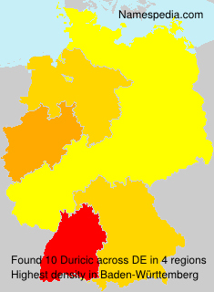Surname Duricic in Germany