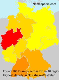 Familiennamen Durmus - Germany