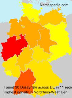 Surname Duszynski in Germany