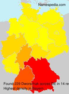 Surname Dworschak in Germany