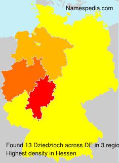 Surname Dziedzioch in Germany