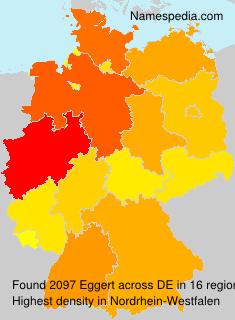 Familiennamen Eggert - Germany