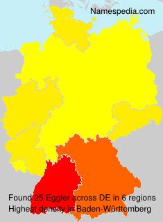 Familiennamen Eggler - Germany