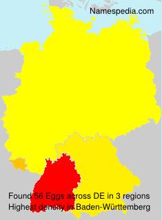 Surname Eggs in Germany