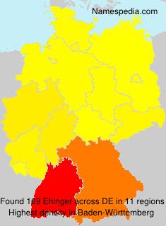 Ehinger