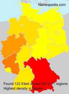 Surname Eibel in Germany