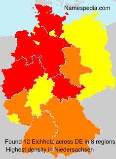 Familiennamen Eichholz - Germany