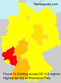 Surname Eichling in Germany