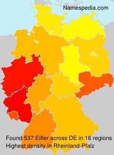 Surname Eifler in Germany