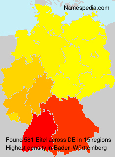 Surname Eitel in Germany