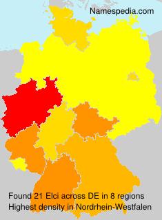Familiennamen Elci - Germany