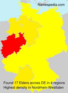 Familiennamen Elders - Germany