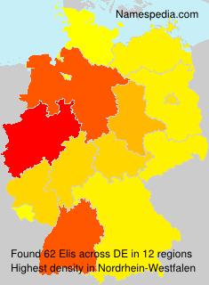 Surname Elis in Germany