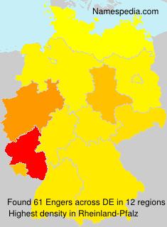 Familiennamen Engers - Germany