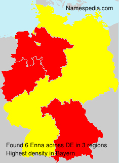 Surname Enna in Germany