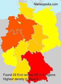 Familiennamen Enzi - Germany