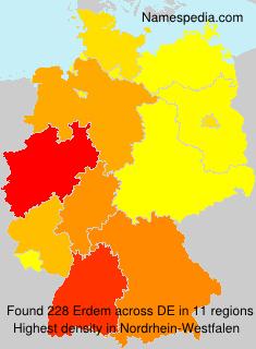 Surname Erdem in Germany