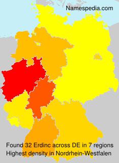 Surname Erdinc in Germany