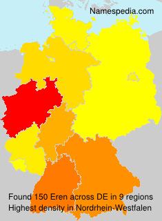 Surname Eren in Germany