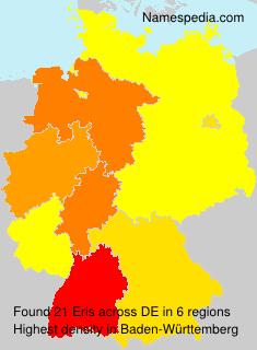 Surname Eris in Germany