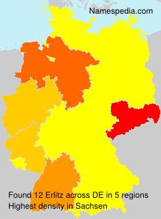 Familiennamen Erlitz - Germany