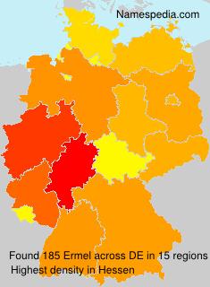 Surname Ermel in Germany