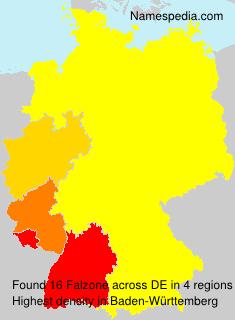 Familiennamen Falzone - Germany