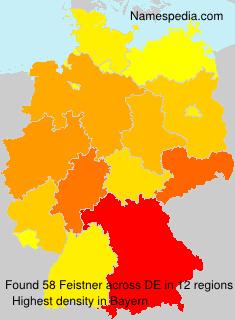 Familiennamen Feistner - Germany
