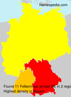 Surname Felbermayr in Germany
