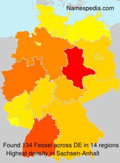 Surname Fessel in Germany