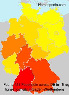 Familiennamen Feuerstein - Germany