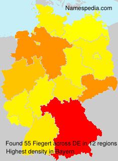 Familiennamen Fiegert - Germany