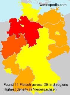 Surname Fielsch in Germany