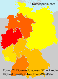 Surname Figueiredo in Germany