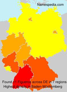 Surname Figueroa in Germany