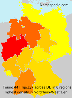 Surname Filipczyk in Germany