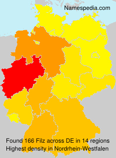 Familiennamen Filz - Germany
