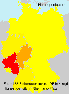 Surname Finkenauer in Germany