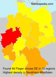 Familiennamen Fleger - Germany