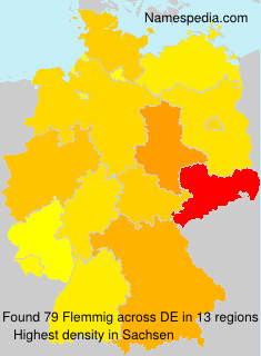 Surname Flemmig in Germany