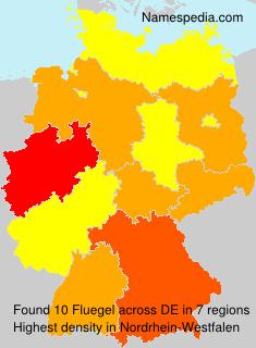 Surname Fluegel in Germany
