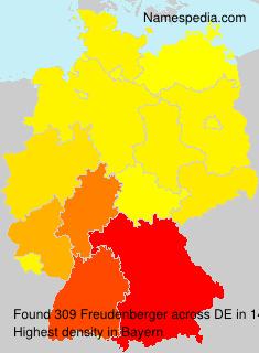 Familiennamen Freudenberger - Germany