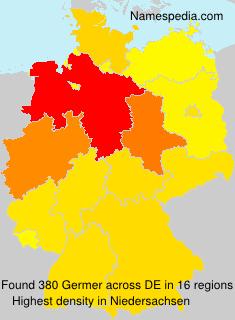 Surname Germer in Germany