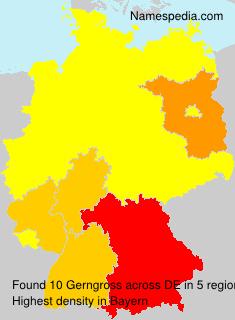 Familiennamen Gerngross - Germany