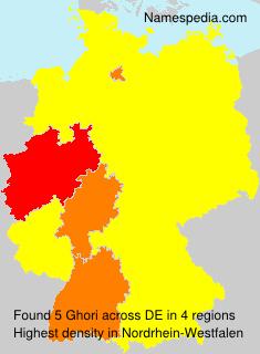 Familiennamen Ghori - Germany