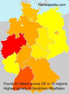 Surname Gibert in Germany