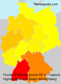 Surname Giesser in Germany