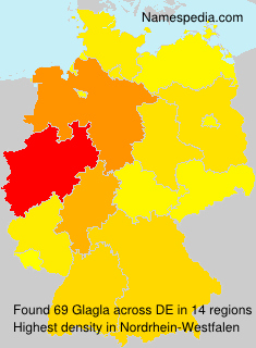 Surname Glagla in Germany