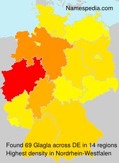 Surname Glagla in Germany