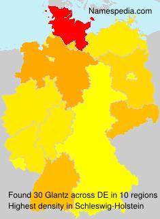 Surname Glantz in Germany